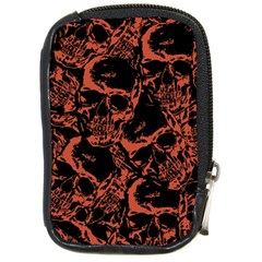 Skull Pattern Compact Camera Cases by ValentinaDesign