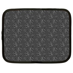 Floral Pattern Netbook Case (xl)