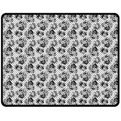 Floral Pattern Fleece Blanket (medium)  by ValentinaDesign