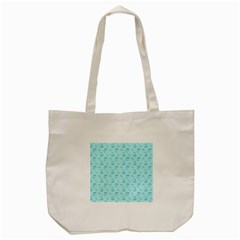 Floral Pattern Tote Bag (cream)