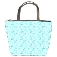 Floral Pattern Bucket Bags