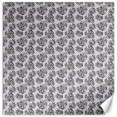 Floral Pattern Canvas 16  X 16   by ValentinaDesign