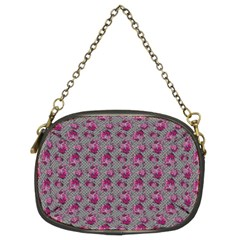 Floral Pattern Chain Purses (two Sides)  by ValentinaDesign