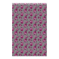 Floral Pattern Shower Curtain 48  X 72  (small)  by ValentinaDesign