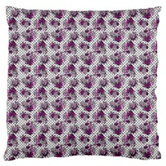 Floral Pattern Large Cushion Case (one Side) by ValentinaDesign