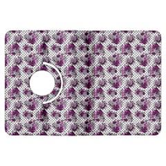 Floral Pattern Kindle Fire Hdx Flip 360 Case by ValentinaDesign