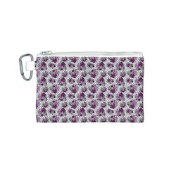 Floral Pattern Canvas Cosmetic Bag (s) by ValentinaDesign