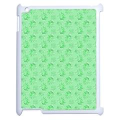 Floral Pattern Apple Ipad 2 Case (white)