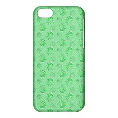 Floral Pattern Apple Iphone 5c Hardshell Case by ValentinaDesign