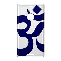 Hindu Om Symbol (midnight Blue) Nokia Lumia 1520 by abbeyz71