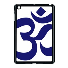 Om Symbol (midnight Blue) Apple Ipad Mini Case (black) by abbeyz71