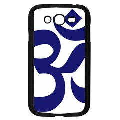 Om Symbol (midnight Blue) Samsung Galaxy Grand Duos I9082 Case (black) by abbeyz71