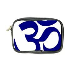 Om Symbol (navy Blue) Coin Purse by abbeyz71