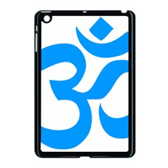 Hindu Om Symbol (ocean Blue) Apple Ipad Mini Case (black) by abbeyz71