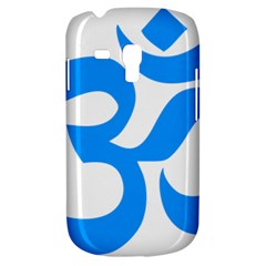 Hindu Om Symbol (ocean Blue) Galaxy S3 Mini by abbeyz71