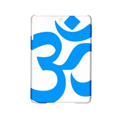 Hindu Om Symbol (ocean Blue) Ipad Mini 2 Hardshell Cases by abbeyz71
