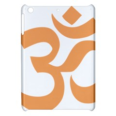 Hindu Om Symbol (sandy Brown) Apple Ipad Mini Hardshell Case by abbeyz71