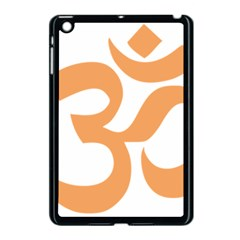 Hindu Om Symbol (sandy Brown) Apple Ipad Mini Case (black) by abbeyz71
