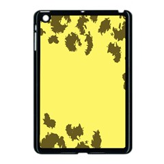 Banner Polkadot Yellow Grey Spot Apple Ipad Mini Case (black) by Mariart