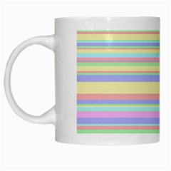 All Ratios Color Rainbow Pink Yellow Blue Green White Mugs by Mariart