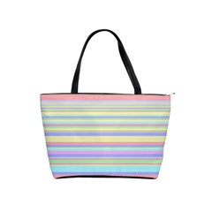 All Ratios Color Rainbow Pink Yellow Blue Green Shoulder Handbags by Mariart
