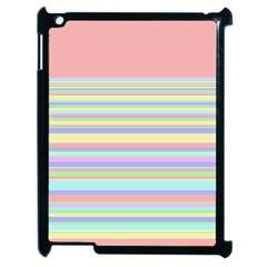 All Ratios Color Rainbow Pink Yellow Blue Green Apple Ipad 2 Case (black) by Mariart