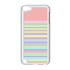 All Ratios Color Rainbow Pink Yellow Blue Green Apple Ipod Touch 5 Case (white) by Mariart