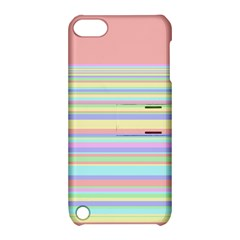 All Ratios Color Rainbow Pink Yellow Blue Green Apple Ipod Touch 5 Hardshell Case With Stand by Mariart