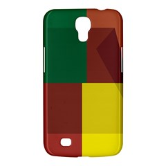 Albers Out Plaid Green Pink Yellow Red Line Samsung Galaxy Mega 6 3  I9200 Hardshell Case by Mariart