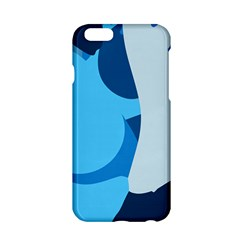 Blue Polka Apple Iphone 6/6s Hardshell Case by Mariart