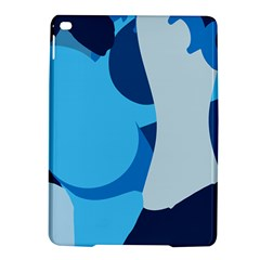 Blue Polka Ipad Air 2 Hardshell Cases by Mariart