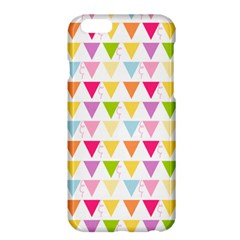 Bunting Triangle Color Rainbow Apple Iphone 6 Plus/6s Plus Hardshell Case by Mariart