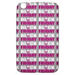 Black Friday Sale White Pink Disc Samsung Galaxy Tab 3 (8 ) T3100 Hardshell Case  by Mariart