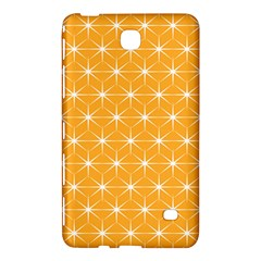 Yellow Stars Iso Line White Samsung Galaxy Tab 4 (8 ) Hardshell Case  by Mariart
