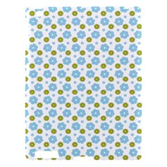 Blue Yellow Star Sunflower Flower Floral Apple Ipad 3/4 Hardshell Case by Mariart