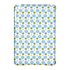 Blue Yellow Star Sunflower Flower Floral Apple Ipad Mini Hardshell Case (compatible With Smart Cover) by Mariart