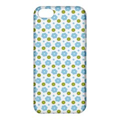 Blue Yellow Star Sunflower Flower Floral Apple Iphone 5c Hardshell Case by Mariart
