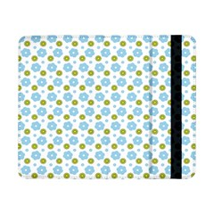 Blue Yellow Star Sunflower Flower Floral Samsung Galaxy Tab Pro 8 4  Flip Case by Mariart