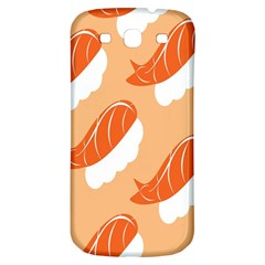 Fish Eat Japanese Sushi Samsung Galaxy S3 S Iii Classic Hardshell Back Case by Mariart