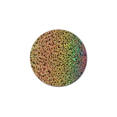 Crystals Rainbow Golf Ball Marker (10 Pack) by Mariart