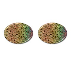 Crystals Rainbow Cufflinks (oval) by Mariart