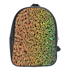 Crystals Rainbow School Bags (xl)  by Mariart