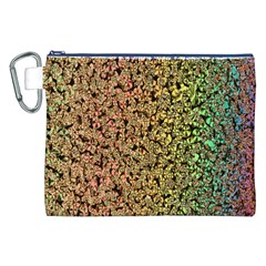 Crystals Rainbow Canvas Cosmetic Bag (xxl) by Mariart