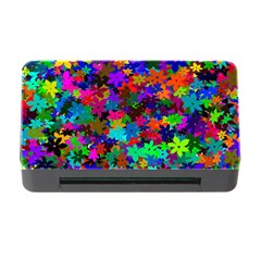 Flowersfloral Star Rainbow Memory Card Reader With Cf by Mariart