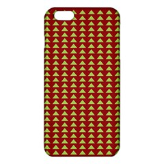 Hawthorn Sharkstooth Triangle Green Red Iphone 6 Plus/6s Plus Tpu Case by Mariart