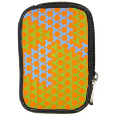 Green Blue Orange Compact Camera Cases by Mariart