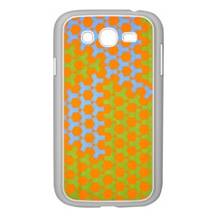 Green Blue Orange Samsung Galaxy Grand Duos I9082 Case (white) by Mariart