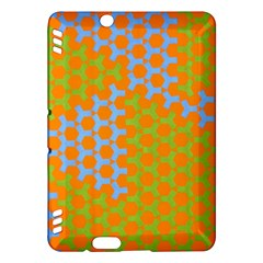 Green Blue Orange Kindle Fire Hdx Hardshell Case by Mariart