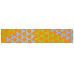 Green Blue Orange Flano Scarf (large) by Mariart