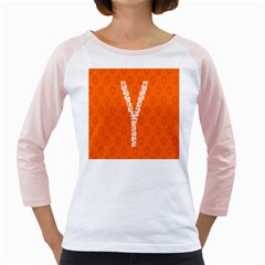 Iron Orange Y Combinator Gears Girly Raglans by Mariart